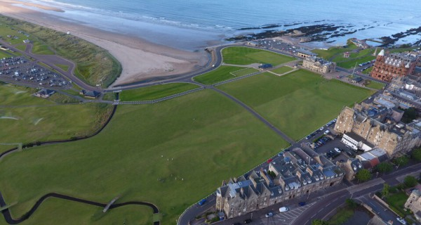 The old course st andrews number 18