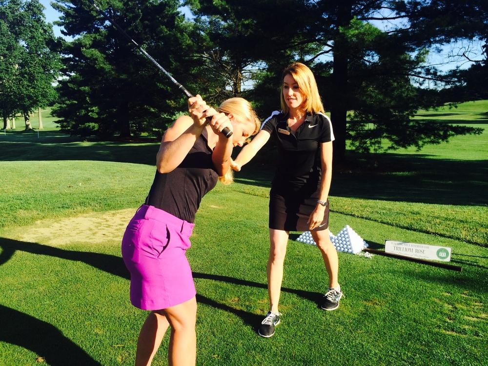 trillium rose golf instruction
