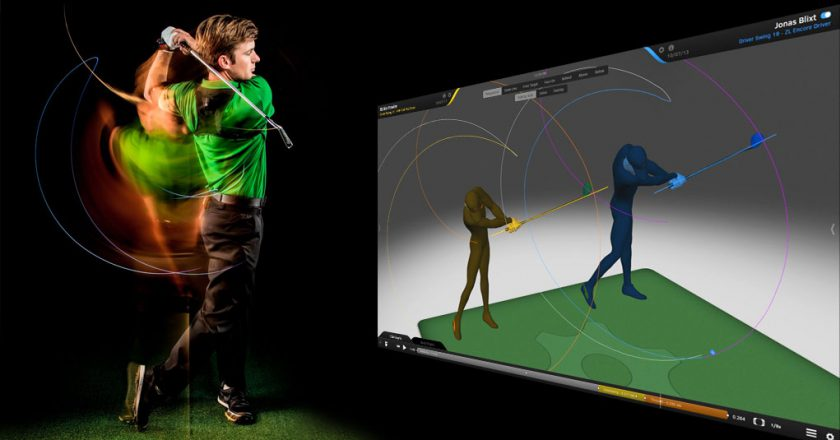 motion capture golf