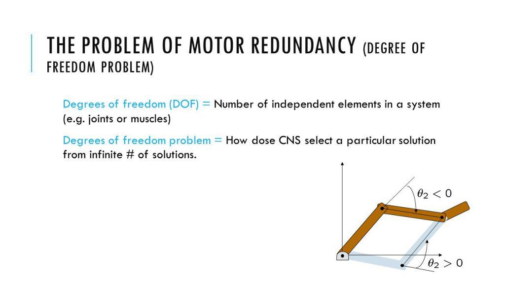 Motor Redundancy Problem